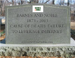 B&N: Killed by failure to understand the Internet...