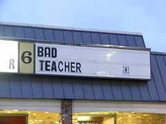 Is no teacher better than a bad teacher?...