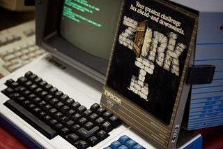 Kaypro and Zork FTW