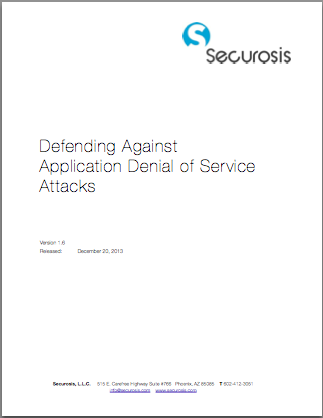 research paper on denial of service attack