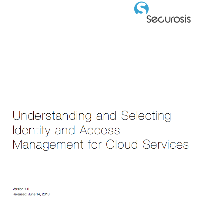 research paper on identity and access management