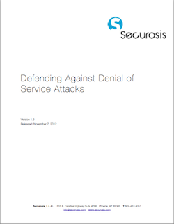 Defending Against DoS Attacks