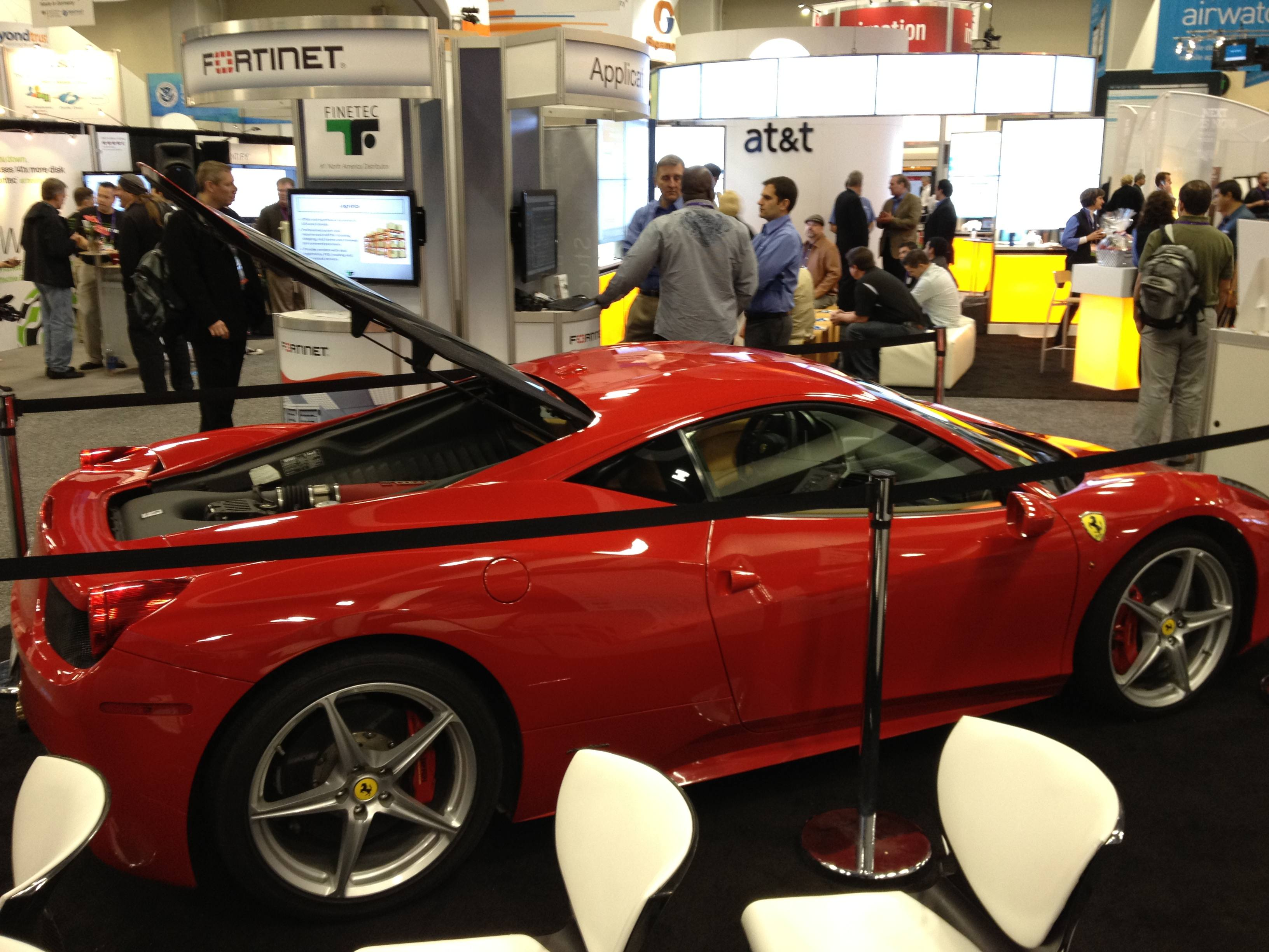 Ferrari -- Nice!