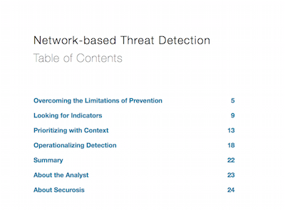 Network-based Threat Detection