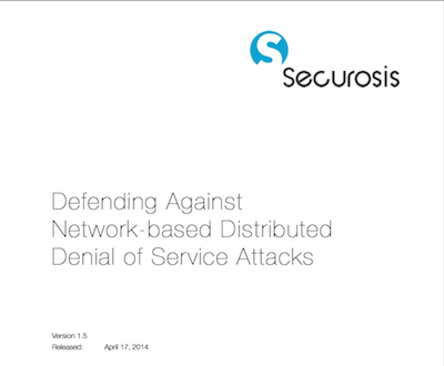 ddos attack thesis Ensemble-based ddos attack detection technique the proposed technique com - bines the analysis of both network traffic features and server load characteristics to detect a wide range of network and application layer ddos attacks and to effectively distinguish them from fes the fourth contribution of the thesis is a traffic.