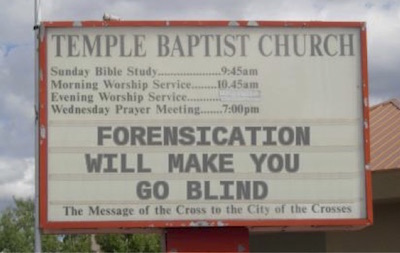 forensication will make you blind