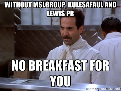 no breakfast for you